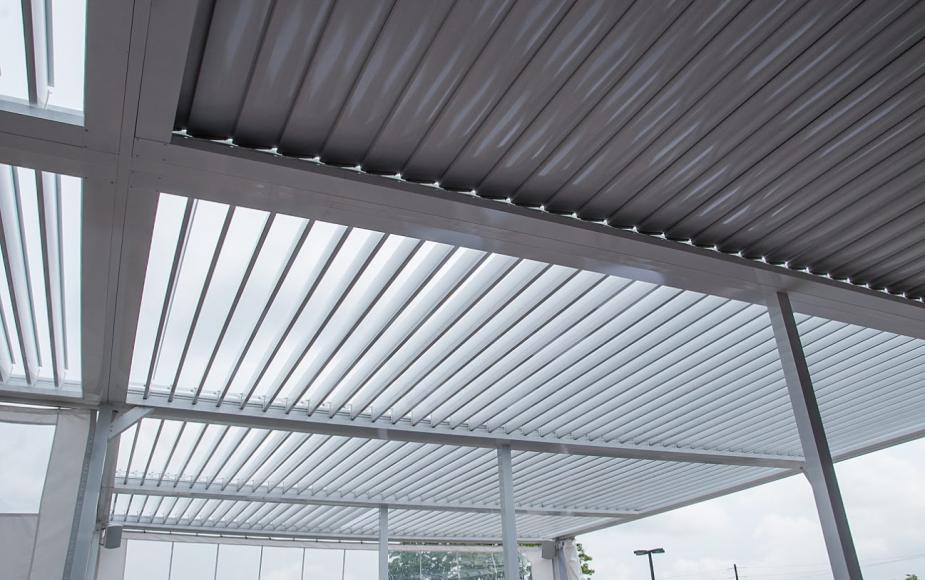 louvered roof 2