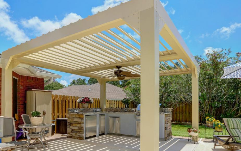 louvered roof 8